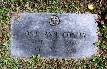 CONLEY, JOSIE ANN - Benton County, Arkansas | JOSIE ANN CONLEY - Arkansas Gravestone Photos