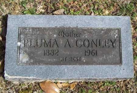 CONLEY, PLUMA A. - Benton County, Arkansas | PLUMA A. CONLEY - Arkansas Gravestone Photos