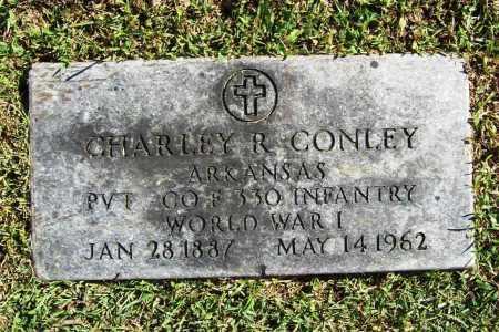 CONLEY (VETERAN WWI), CHARLEY R - Benton County, Arkansas | CHARLEY R CONLEY (VETERAN WWI) - Arkansas Gravestone Photos