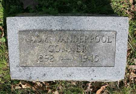 VANDERPOOL CONNER, NAOMI - Benton County, Arkansas | NAOMI VANDERPOOL CONNER - Arkansas Gravestone Photos