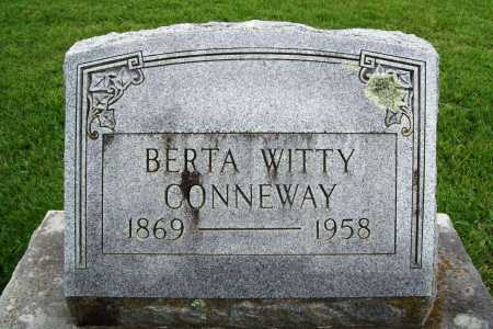 CONNEWAY, BERTA - Benton County, Arkansas | BERTA CONNEWAY - Arkansas Gravestone Photos