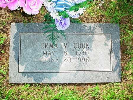 COOK, ERMA M. - Benton County, Arkansas | ERMA M. COOK - Arkansas Gravestone Photos