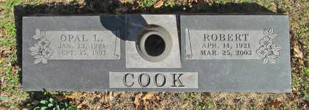 COOK, OPAL L - Benton County, Arkansas | OPAL L COOK - Arkansas Gravestone Photos