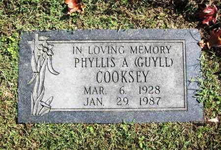GUYLL COOKSEY, PHYLLIS A. - Benton County, Arkansas | PHYLLIS A. GUYLL COOKSEY - Arkansas Gravestone Photos