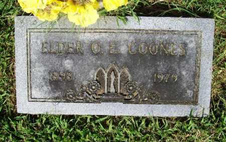 COONES, ELDER O. E. - Benton County, Arkansas | ELDER O. E. COONES - Arkansas Gravestone Photos