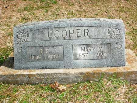 COOPER, B. F. - Benton County, Arkansas | B. F. COOPER - Arkansas Gravestone Photos