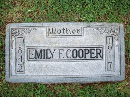 COOPER, EMILY F. - Benton County, Arkansas | EMILY F. COOPER - Arkansas Gravestone Photos
