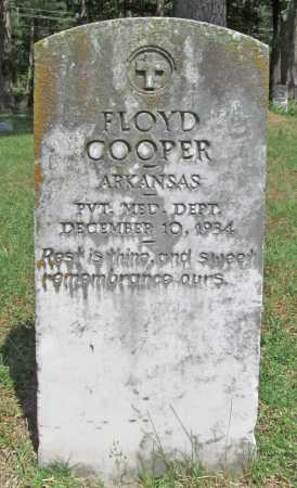 COOPER (VETERAN), FLOYD - Benton County, Arkansas | FLOYD COOPER (VETERAN) - Arkansas Gravestone Photos