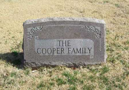 COOPER, FAMILY - Benton County, Arkansas | FAMILY COOPER - Arkansas Gravestone Photos