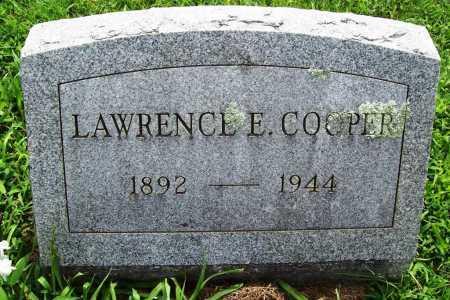 COOPER, LAWRENCE E. - Benton County, Arkansas | LAWRENCE E. COOPER - Arkansas Gravestone Photos