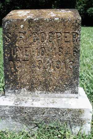 COOPER, S. R. - Benton County, Arkansas | S. R. COOPER - Arkansas Gravestone Photos