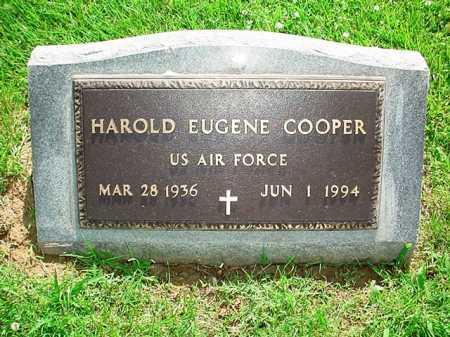 COOPER (VETERAN), HAROLD EUGENE - Benton County, Arkansas | HAROLD EUGENE COOPER (VETERAN) - Arkansas Gravestone Photos
