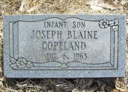 COPELAND, JOSEPH BLAINE - Benton County, Arkansas | JOSEPH BLAINE COPELAND - Arkansas Gravestone Photos