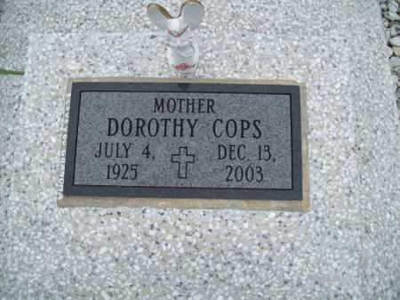 COPS, DOROTHY - Benton County, Arkansas | DOROTHY COPS - Arkansas Gravestone Photos