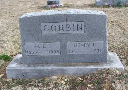 CORBIN, KATE L. - Benton County, Arkansas | KATE L. CORBIN - Arkansas Gravestone Photos