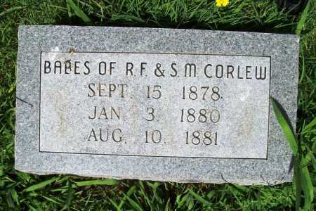 CORLEW, BABIES - Benton County, Arkansas | BABIES CORLEW - Arkansas Gravestone Photos