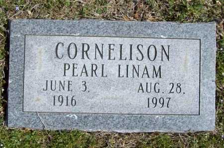 LINAM CORNELISON, PEARL - Benton County, Arkansas | PEARL LINAM CORNELISON - Arkansas Gravestone Photos
