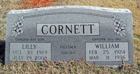 LEWELLEYN CORNETT, LILLY - Benton County, Arkansas | LILLY LEWELLEYN CORNETT - Arkansas Gravestone Photos