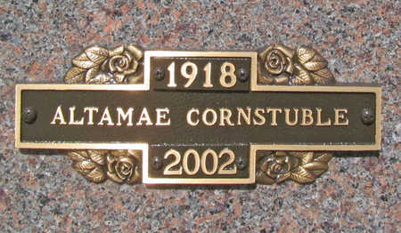 MICK CORNSTUBLE, ALTAMAE - Benton County, Arkansas | ALTAMAE MICK CORNSTUBLE - Arkansas Gravestone Photos
