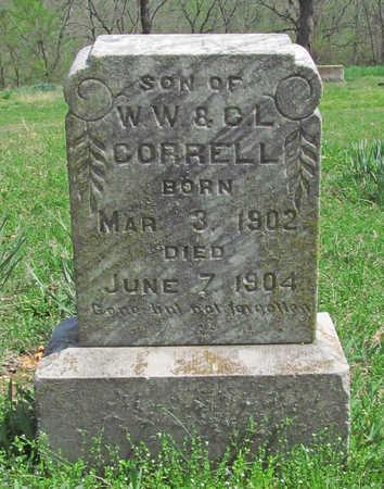 CORRELL, JOHN B - Benton County, Arkansas | JOHN B CORRELL - Arkansas Gravestone Photos