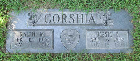 CORSHIA, JESSIE E - Benton County, Arkansas | JESSIE E CORSHIA - Arkansas Gravestone Photos