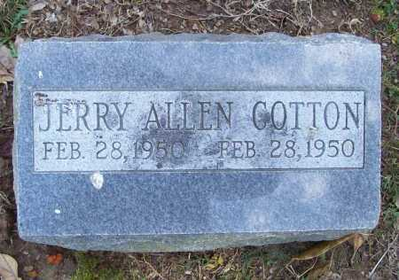 COTTON, JERRY ALLEN - Benton County, Arkansas | JERRY ALLEN COTTON - Arkansas Gravestone Photos