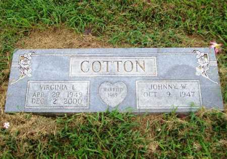 TURNER COTTON, VIRGINIA LOUISE - Benton County, Arkansas | VIRGINIA LOUISE TURNER COTTON - Arkansas Gravestone Photos