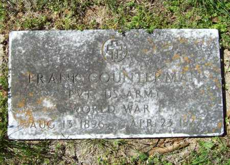 COUNTERMAN (VETERAN WWI), FRANK - Benton County, Arkansas | FRANK COUNTERMAN (VETERAN WWI) - Arkansas Gravestone Photos