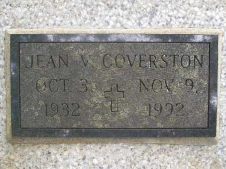 BUTTRAM COVERSTON, JEAN VIRGINIA - Benton County, Arkansas | JEAN VIRGINIA BUTTRAM COVERSTON - Arkansas Gravestone Photos
