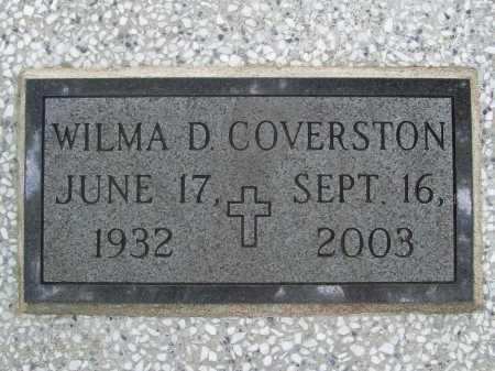 COVERSTON, WILMA D. - Benton County, Arkansas | WILMA D. COVERSTON - Arkansas Gravestone Photos