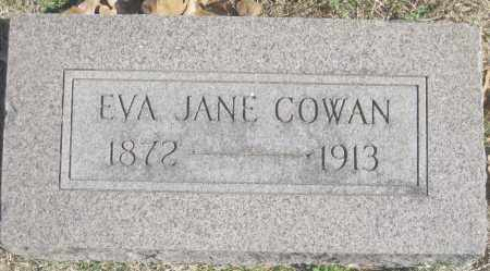 COWAN, EVA JANE - Benton County, Arkansas | EVA JANE COWAN - Arkansas Gravestone Photos
