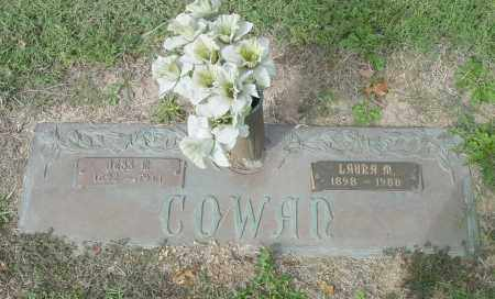 MAHANEY COWAN, LAURA M. - Benton County, Arkansas | LAURA M. MAHANEY COWAN - Arkansas Gravestone Photos