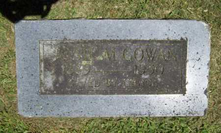 COWAN, JOSIE M. - Benton County, Arkansas | JOSIE M. COWAN - Arkansas Gravestone Photos