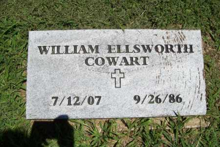 COWART, WILLIAM ELLSWORTH - Benton County, Arkansas | WILLIAM ELLSWORTH COWART - Arkansas Gravestone Photos