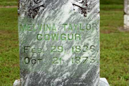 COWGUR, MELVINA - Benton County, Arkansas | MELVINA COWGUR - Arkansas Gravestone Photos