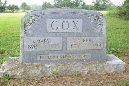 COX, MARY - Benton County, Arkansas | MARY COX - Arkansas Gravestone Photos