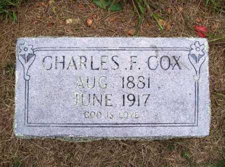 COX, CHARLES F. - Benton County, Arkansas | CHARLES F. COX - Arkansas Gravestone Photos