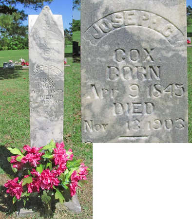 COX (VETERAN CSA), JOSEPH COLUMBUS - Benton County, Arkansas | JOSEPH COLUMBUS COX (VETERAN CSA) - Arkansas Gravestone Photos