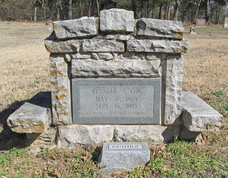 COX, KENNETH J - Benton County, Arkansas | KENNETH J COX - Arkansas Gravestone Photos