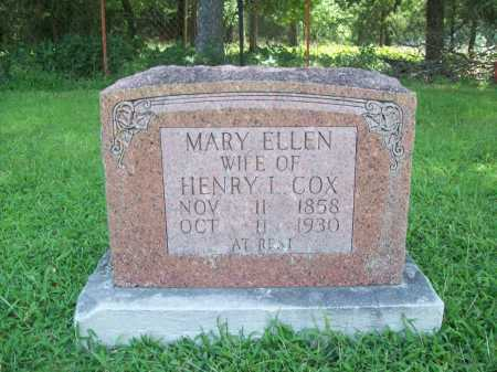 COX, MARY ELLEN - Benton County, Arkansas | MARY ELLEN COX - Arkansas Gravestone Photos