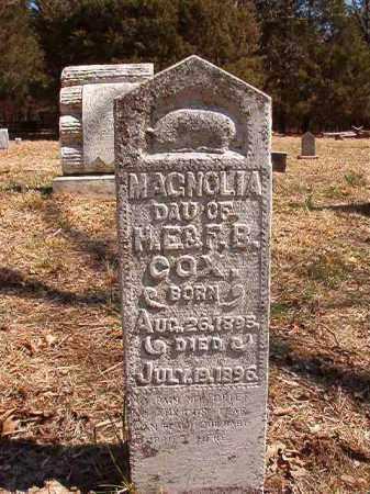 COX, MAGNOLIA - Benton County, Arkansas | MAGNOLIA COX - Arkansas Gravestone Photos