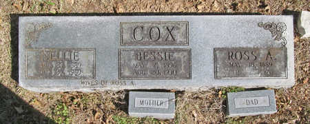 COX, BESSIE - Benton County, Arkansas | BESSIE COX - Arkansas Gravestone Photos