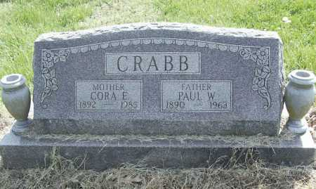 CRABB, CORA E. - Benton County, Arkansas | CORA E. CRABB - Arkansas Gravestone Photos