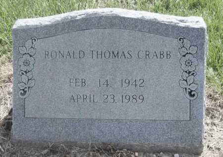 CRABB, RONALD THOMAS - Benton County, Arkansas | RONALD THOMAS CRABB - Arkansas Gravestone Photos