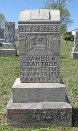 CRABTREE, JAMES N - Benton County, Arkansas | JAMES N CRABTREE - Arkansas Gravestone Photos