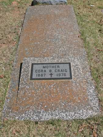 CRAIG, CORA B. - Benton County, Arkansas | CORA B. CRAIG - Arkansas Gravestone Photos