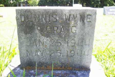 CRAIG, DENNIS WYNE - Benton County, Arkansas | DENNIS WYNE CRAIG - Arkansas Gravestone Photos