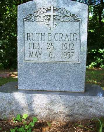 CRAIG, RUTH E. - Benton County, Arkansas | RUTH E. CRAIG - Arkansas Gravestone Photos