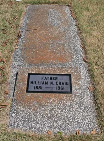 CRAIG, WILLIAM N. - Benton County, Arkansas | WILLIAM N. CRAIG - Arkansas Gravestone Photos
