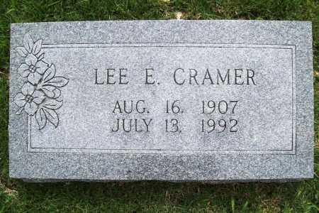 CRAMER, LEE E. - Benton County, Arkansas | LEE E. CRAMER - Arkansas Gravestone Photos